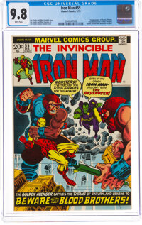 Iron Man #55 (Marvel, 1973) CGC NM/MT 9.8 White pages