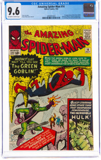 The Amazing Spider-Man #14 (Marvel, 1964) CGC NM+ 9.6 Off-white to white pages