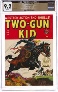 Two-Gun Kid #6 The Promise Collection Pedigree (Marvel, 1949) CGC NM- 9.2 White pages