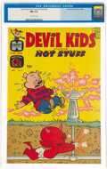 Silver Age (1956-1969):Humor, Devil Kids Starring Hot Stuff #2 (Harvey, 1962) CGC NM 9.4 Off-white pages....