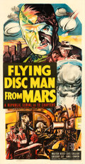Movie Posters:Serial, Flying Disc Man from Mars (Republic, 1950). Very Fine on L...
