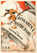 Movie Posters:Horror, The Hunchback of Notre Dame (Universal, 1924). Folded, Ver...