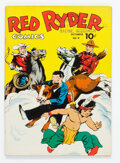 Golden Age (1938-1955):Adventure, Red Ryder Comics #9 File Copy (Dell, 1942) Condition: FN-....