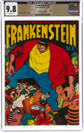 Golden Age (1938-1955):Adventure, Frankenstein Comics #2 The Promise Collection Pedigree (Prize, 1946) CGC NM/MT 9.8 White pages....