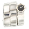 Estate Jewelry:Watches, Bvlgari Tubogas Stainless Steel Watch. ...