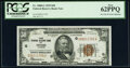 Small Size:Federal Reserve Bank Notes, Fr. 1880-G $50 1929 Federal Reserve Bank Note. PCGS New 62PPQ.. ...