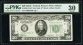 Small Size:Federal Reserve Notes, Fr. 2057-F* $20 1934C New Back Federal Reserve Star Note. PMG Very Fine 30.. ...