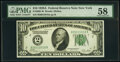 Small Size:Federal Reserve Notes, Fr. 2001-B $10 1928A Federal Reserve Note. PMG Choice About Unc 58.. ...