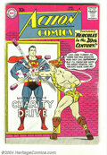 Silver Age (1956-1969):Superhero, Action Comics #267 (DC, 1960) Condition: VG. 1st appearance of Chameleon Boy, Colossal Boy, Invisible Kid I (Lyle Norg). Thi...