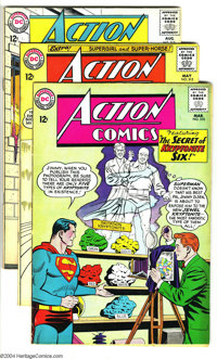 Action Comics Group (DC, 1964) Condition: Average FN. This group includes #310, 312, and 315. Artists include Curt Swan...