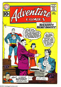 Adventure Comics #288 (DC, 1961) Condition: FN/VF. Curt Swan cover. Bizarro appearance. Overstreet 2003 FN 6.0 value = $...