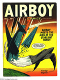 Golden Age (1938-1955):War, Airboy Comics v7#9 (Hillman Fall, 1950) Condition: FN+. DanZolnerowich cover. Overstreet 2003 FN 6.0 value = $51. ...