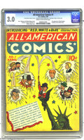 Golden Age (1938-1955):Adventure, All-American Comics #1 (DC, 1939) CGC VG/FN 5.0 Cream to off-white pages. First appearance of Hop Harrigan, Scribbly, and Re...