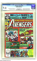 Modern Age (1980-Present):Superhero, The Avengers Annual #10 (Marvel, 1981) CGC NM+ 9.6 Off-white towhite pages. The first appearance of Rogue. X-Men appearance...