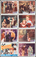 """Movie Posters:Crime, Sideshow (Monogram, 1950). Very Fine/Near Mint. Lobby Card Set of 8 (11"""" X 14""""). Crime.. ... (Total: 8 Items)"""