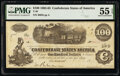Confederate Notes:1862 Issues, T40 $100 1862 PF-1 Cr. 298 PMG About Uncirculated 55 EPQ.. ...