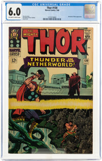 Thor #130 (Marvel, 1966) CGC FN 6.0 Off-white to white pages