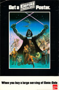 Movie Posters:Science Fiction, The Empire Strikes Back (Lucasfilm, 1980). Rolled, Fine/Ve...