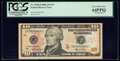 Small Size:Federal Reserve Notes, Low Serial Number 666 Fr. 2040-B $10 2006 Federal Reserve Note. PCGS Very Choice New 64PPQ.. ...