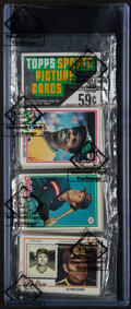 Baseball Cards:Unopened Packs/Display Boxes, 1978 Topps Baseball Rack Pack - BBCE Authenticated. ...