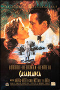 """Movie Posters:Academy Award Winners, Casablanca (MGM/UA Home Video, R-1992). Rolled, Very Fine. 50th Anniversary Video Poster (24"""" X 36"""") C. Michael Dudash Artwo..."""