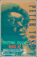 """Movie Posters:Documentary, Stepping Razor: Red X (Northern Arts Entertainment, 1993). Rolled, Very Fine. One Sheet (25.5"""" X 39.75"""") SS. Documentary.. ..."""