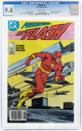 Modern Age (1980-Present):Superhero, The Flash #1 (DC, 1987) CGC NM 9.4 White pages....