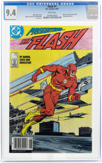 The Flash #1 (DC, 1987) CGC NM 9.4 White pages