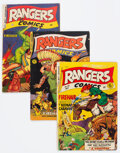 Golden Age (1938-1955):War, Rangers Comics #50, 62, and 64 Group (Fiction House, 1949-52) Condition: Average VG/FN.... (Total: 3 )