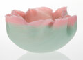 Glass, Toots Zynsky (American, b. 1951). Vessel from the Tierra del Fuego Series, 1985. Filet-de-verre. 5 x 9-1/4 inches (12.7 ...