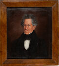 Political:Miscellaneous Political, Andrew Jackson: Oil on Canvas Painting....