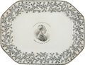 Political:3D & Other Display (pre-1896), Henry Clay: Chickweed Meat Platter....