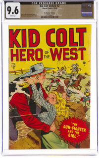 Kid Colt Outlaw #2 The Promise Collection Pedigree (Marvel, 1948) CGC NM+ 9.6 White pages