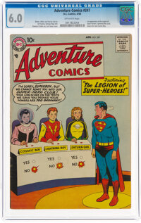 Adventure Comics #247 (DC, 1958) CGC FN 6.0 Off-white pages