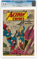Silver Age (1956-1969):Superhero, Action Comics #252 (DC, 1959) CGC VG- 3.5 Cream to off-white pages....