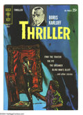 Silver Age (1956-1969):Horror, Boris Karloff Thriller #2 (Gold Key, 1963) Condition: VF/NM.Overstreet 2003 VF/NM 9.0 value = $56; NM 9.4 value = $70....