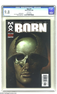 Born #1 (Marvel, 2003) CGC NM/MT 9.8 White pages. Garth Ennis story. Wieslaw Walkuski cover. Darick Robertson and Tom Pa...