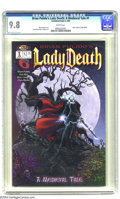 Modern Age (1980-Present):Horror, Brian Pulido's Lady Death: A Medieval Tale #1 (Cross Gen/Code 6,2003) CGC NM/MT 9.8 White pages. Brian Pulido story. Ivan R...