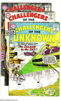 Silver Age (1956-1969):Adventure, Challengers of the Unknown Group (DC, 1962-65) Condition: Average GD/VG. This group includes # 23, 24 (two copies), 27-29, 3... (Total: 12 Comic Books Item)