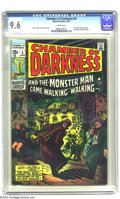 Bronze Age (1970-1979):Horror, Chamber of Darkness #4 (Marvel, 1970) CGC NM+ 9.6 White pages.Conan-like character tryout by Barry Windsor-Smith. Smith and...
