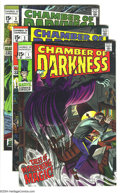 Bronze Age (1970-1979):Horror, Chamber of Darkness Group (Marvel, 1968-69) Condition: Average FN+.This group includes two copies of #1 (one GD, one FN), o... (Total:5 Comic Books Item)