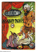 Golden Age (1938-1955):Classics Illustrated, Classic Comics #8 Arabian Nights First Edition (Gilberton, 1943) Condition: GD/VG. Original first printing. Looks VG+ or bet...