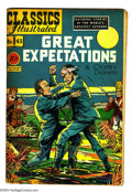 Golden Age (1938-1955):Classics Illustrated, Classics Illustrated #43 Great Expectations - First Edition (Gilberton, 1947) Condition: VG/FN. Original first printing. Ove...