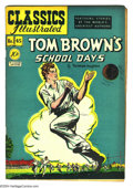 Golden Age (1938-1955):Classics Illustrated, Classics Illustrated #45 Tom Brown's School Days - First Edition(Gilberton, 1948) Condition: FN. Original first printing. O...