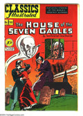 Golden Age (1938-1955):Classics Illustrated, Classics Illustrated #52 The House of the Seven Gables - FirstEdition (Gilberton, 1948) Condition: FN+. Original first prin...