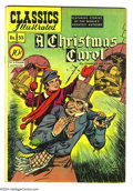 Golden Age (1938-1955):Classics Illustrated, Classics Illustrated #53 A Christmas Carol - First Edition (Gilberton, 1948) Condition: FN+. Original first printing. Overst...