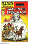 Golden Age (1938-1955):Classics Illustrated, Classics Illustrated #54 The Man in the Iron Mask - First Edition (Gilberton, 1948) Condition: FN/VF. Original first printin...