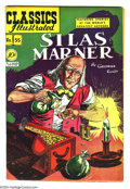 Golden Age (1938-1955):Classics Illustrated, Classics Illustrated #55 Silas Marner - First Edition (Gilberton, 1949) Condition: VF-. Original first printing. Overstreet ...