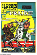 Golden Age (1938-1955):Classics Illustrated, Classics Illustrated #58 The Prairie - First Edition (Gilberton,1949) Condition: VF/NM. Original first printing. Overstreet...