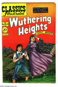 Golden Age (1938-1955):Classics Illustrated, Classics Illustrated #59 Wuthering Heights - First Edition(Gilberton, 1949) Condition: FN+. Original first printing.Overst...